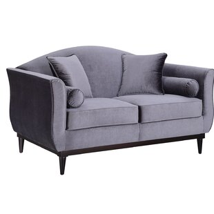 Compare prices Denholme Upholstered Loveseat by House of Hampton Reviews (2019) & Buyer's Guide