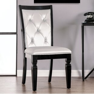 Blackburn Button Tufted Upholstered Dining Chair (Set of 2) by Rosdorf Park