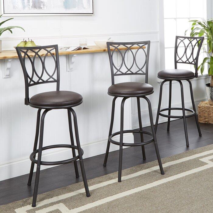 Remarkable Atoka Adjustable Height Swivel Bar Stool Machost Co Dining Chair Design Ideas Machostcouk