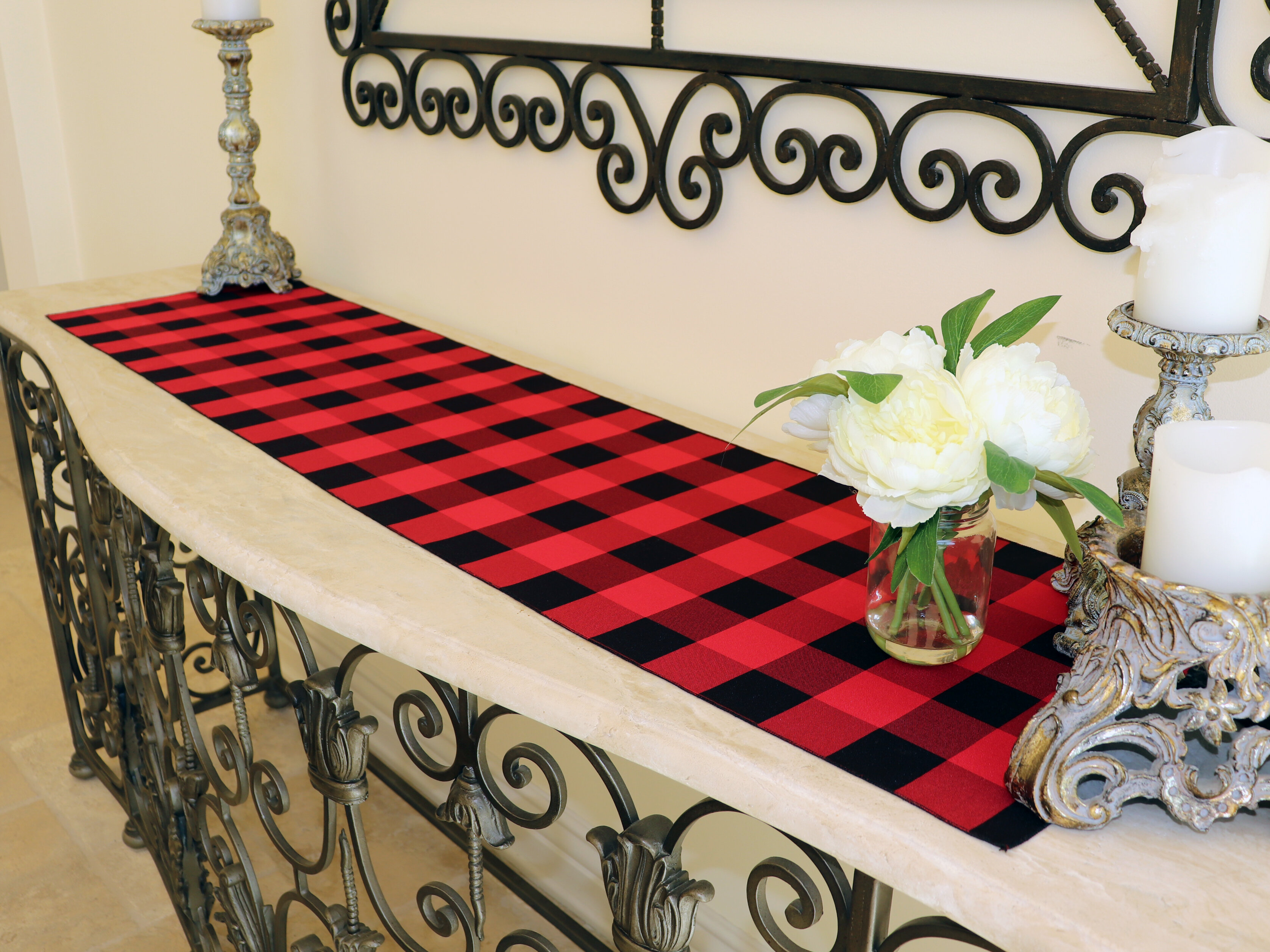 14 X 90 Red Table Runners You Ll Love In 2021 Wayfair