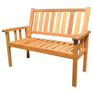 Mcclure Wooden Bench By Sol 72 Outdoor