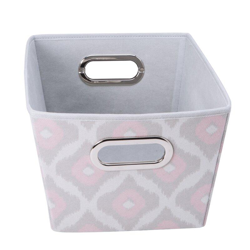 Closet Candie Grommet Fabric Storage Bin
