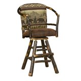Webrook Hoop 30 Swivel Bar Stool by Loon Peak®