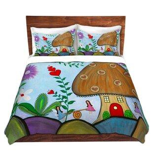84669889 Halesworth Samantha Knops Secret Garden Microfiber Duvet Covers