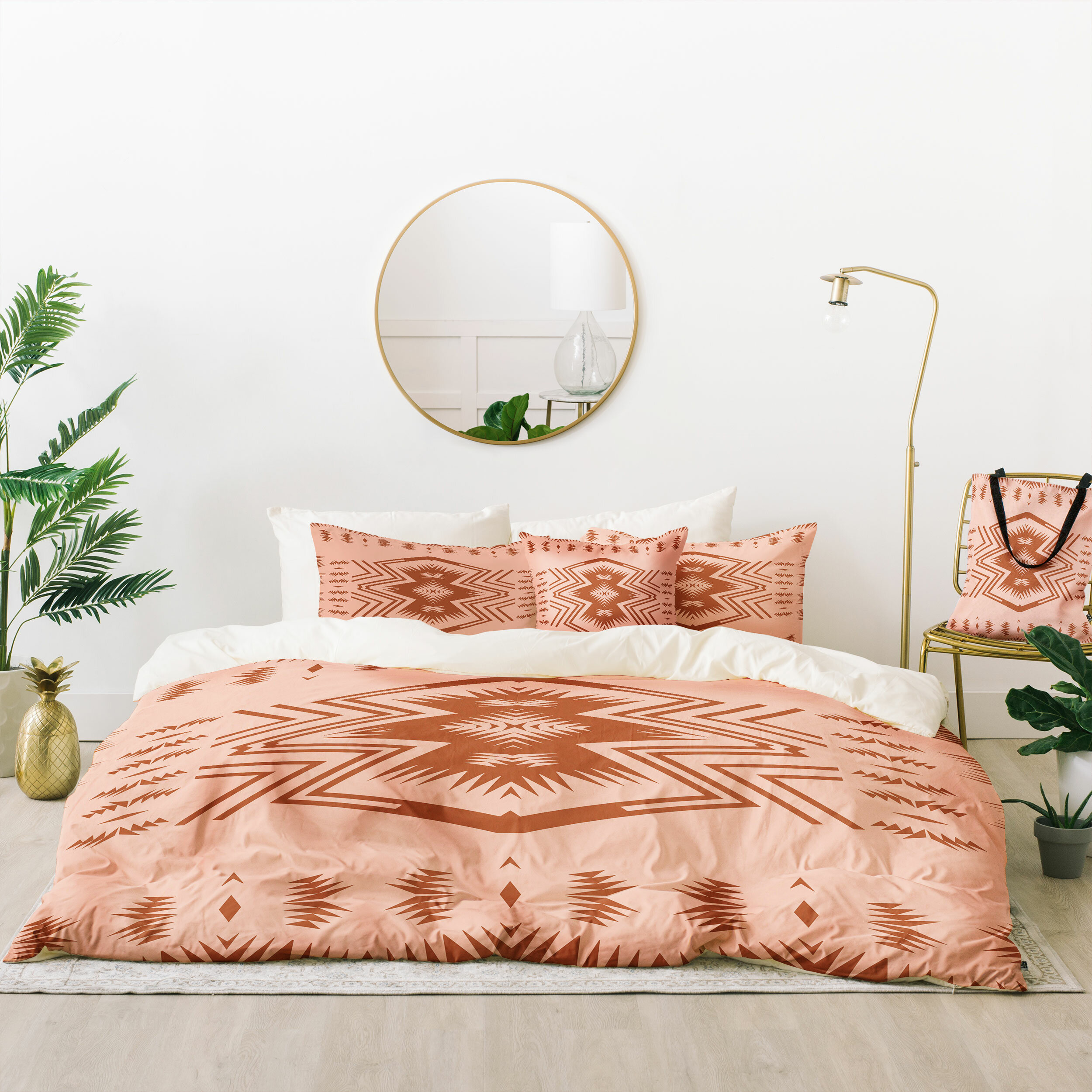 East Urban Home Holli Zollinger Colorado Blush Duvet Cover Set Wayfair