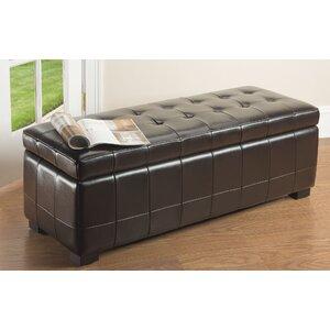 Sinope Leather Storage Bench