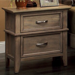 Walraven 2 Drawer Nightstand by Millwood Pines