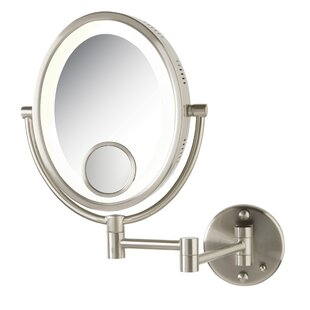 Best Reviews Halo Wall Mount Lighted Mirror By Jerdon