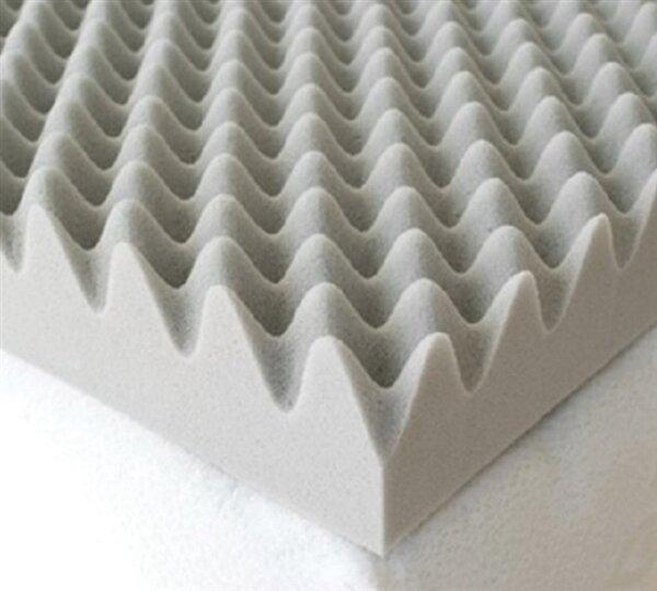 egg foam mattress topper Alwyn Home Egg Crate Twin XL 4