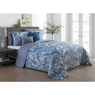Wardell 7 Piece Reversible Quilt Set