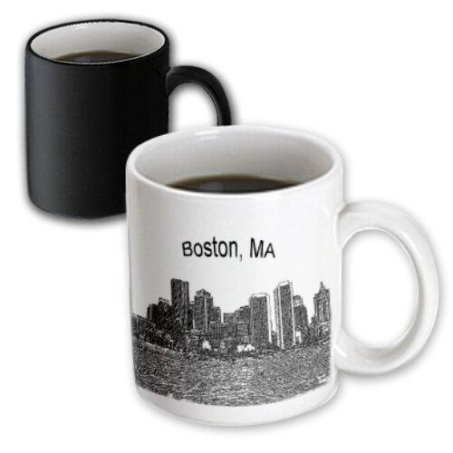 Symple Stuff Berrier Boston Downtown Skyline Line Art Coffee Mug Wayfair