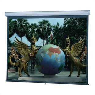 Model C Matte White Manual Projection Screen by Da-Lite Cool