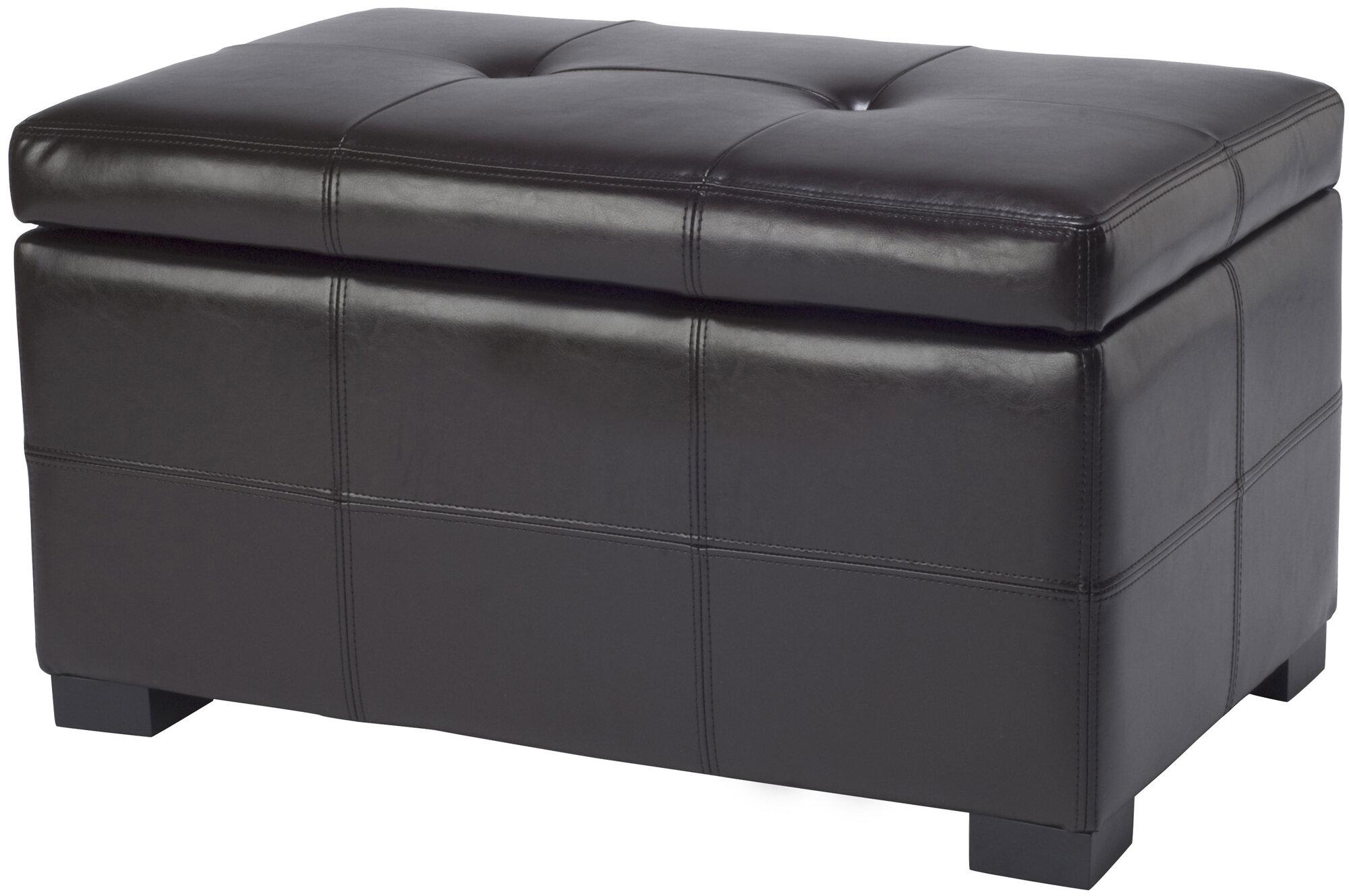 Astounding Maiden Leather Tufted Storage Ottoman Inzonedesignstudio Interior Chair Design Inzonedesignstudiocom