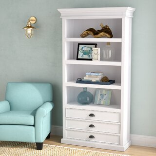 Amityville Standard Bookcase by Beachcrest Home SKU:CE404993 Check Price