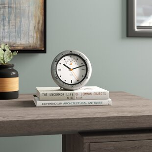 Small Vintage Desk Clock Wayfair