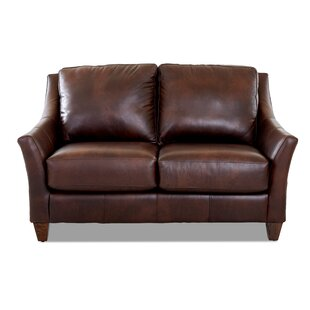Session Leather Loveseat
