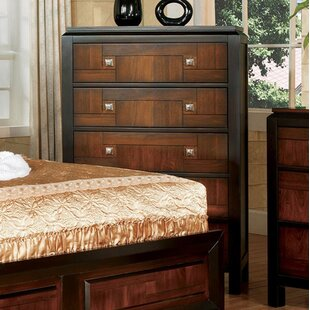 Rountree 5 Drawer Chest by World Menagerie