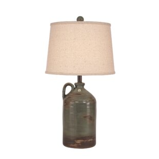 Laymon 1-Handle Pottery Jug 28 Table Lamp