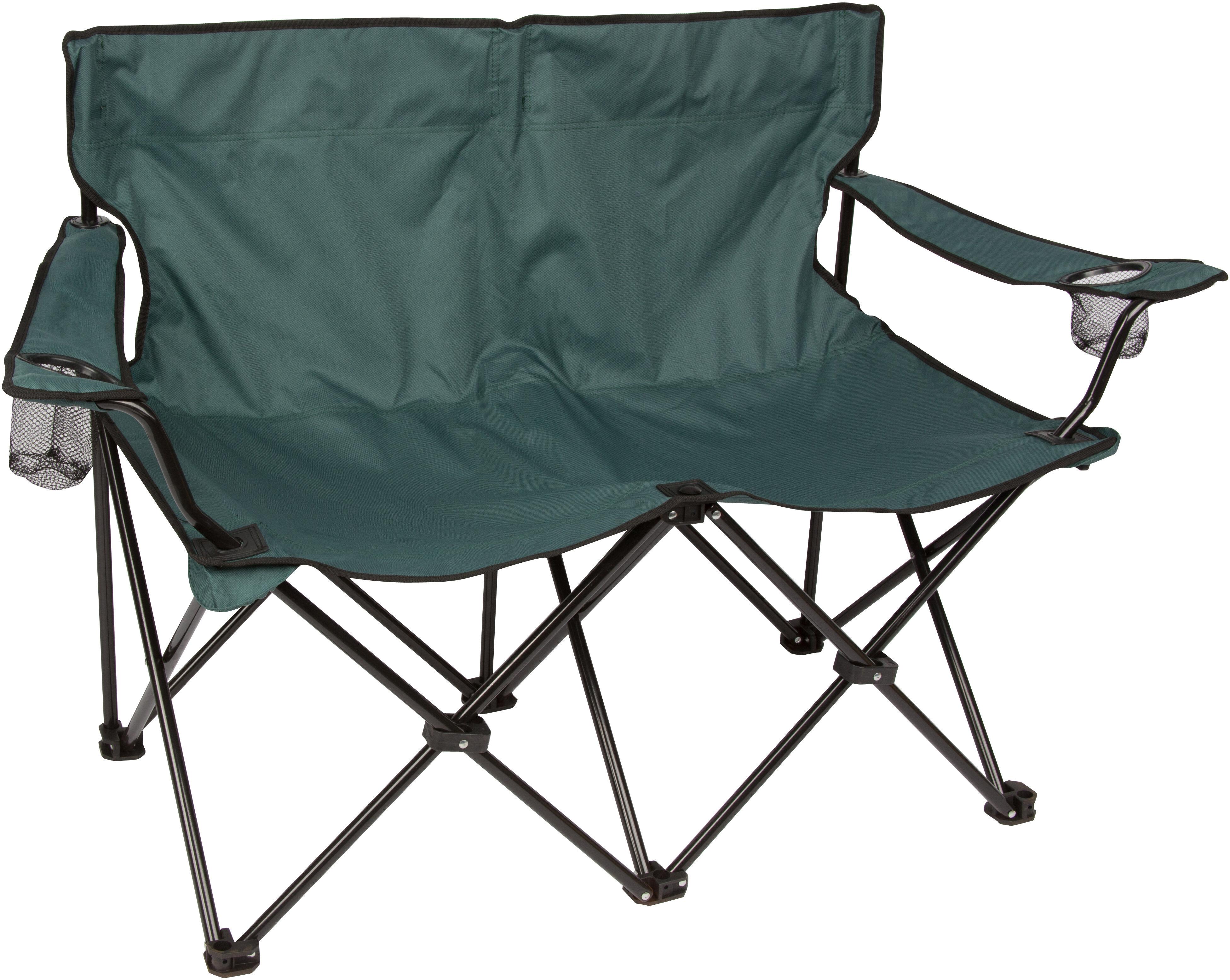 sc 1 st  Wayfair & Trademark Innovations Loveseat Folding Camping Chair   Wayfair