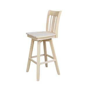 Joslin 30 Swivel Bar Stool August Grove