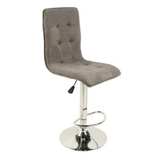Serlin Adjustable Height Swivel Bar Stool