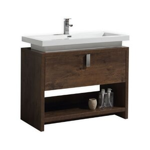 Gaynelle 40 Single Bathroom Vanity Set