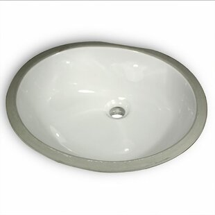 Reviews Great Point Ceramic Oval Undermount Bathroom Sink By Nantucket Sinks