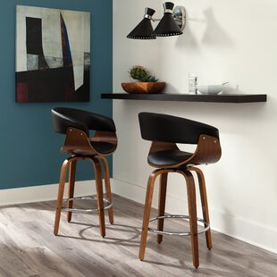 Enjoyable Cavin 26 Swivel Bar Stool Caraccident5 Cool Chair Designs And Ideas Caraccident5Info