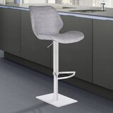 Vidal Swivel Adjustable Height Bar Stool by Orren Ellis
