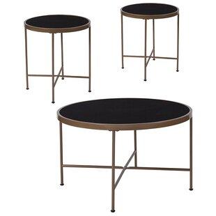 Ebern Designs Brecken 3 Piece Coffee Table Set