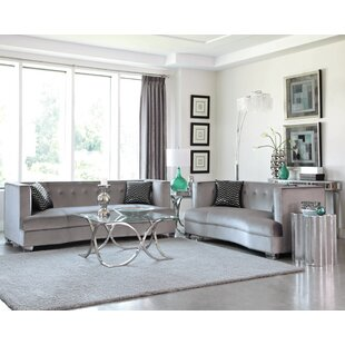 Find Koeller 4 Piece Living Room Set by Everly Quinn Reviews (2019) & Buyer's Guide