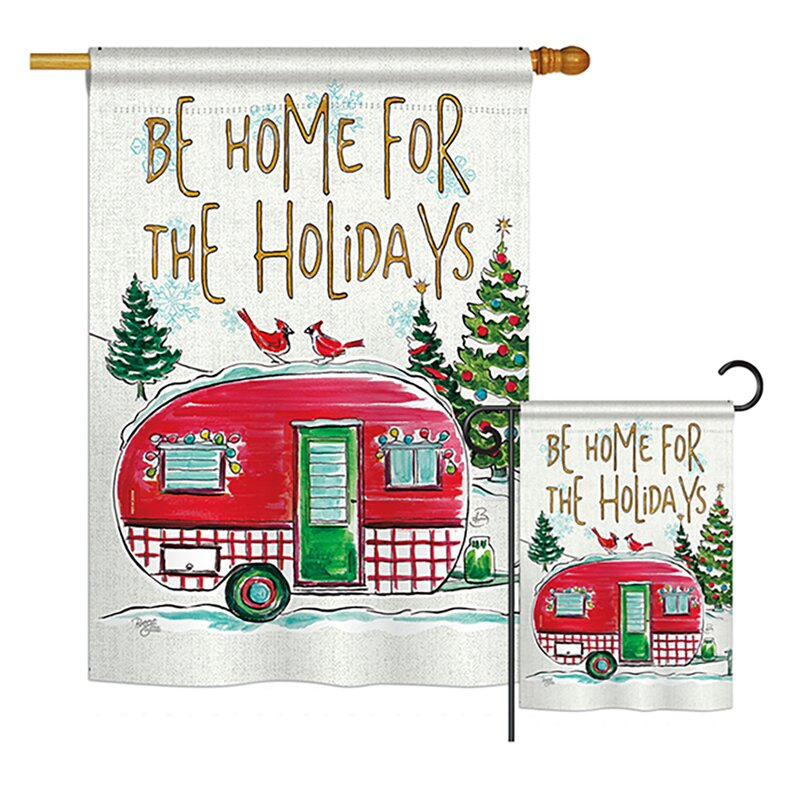 Burlap 12 X 18 Inches W Darice Merry Christmas Garden Flag