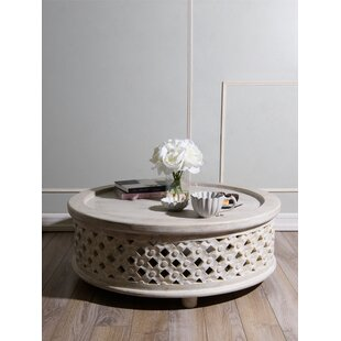 Kayley Wood Coffee Table by Ophelia & Co.