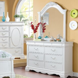 Reviews Janice 8 Drawer Dresser with Mirror by Harriet Bee Reviews (2019) & Buyer's Guide
