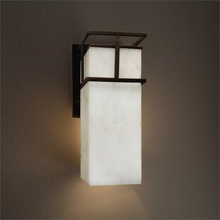 Brayden Studio Genaro 1-Light Outdoor Sconce