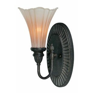 Brumbelow 1-Light Bath Sconce by Fleur De Lis Living