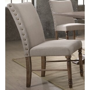 Twitchell Upholstered Dining Chair (Set of 2) Gracie Oaks
