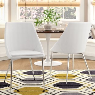 Cassilda Upholstered Dining Chair (Set of 2) Wade Logan