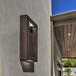 Latitude Run Hallie 1-Light Outdoor Flush Mount