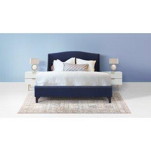 Everly Wingback Upholstered Platform Bed by Jennifer Taylor