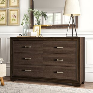 Bowne 6 Drawer Double Dresser