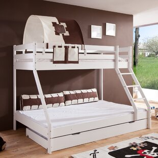 Buy Cheap Fairman Bunk Bed With Drawer And Textile Set