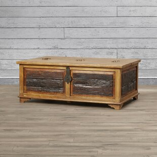 Bentonite Blanket Box / Trunk Coffee Table