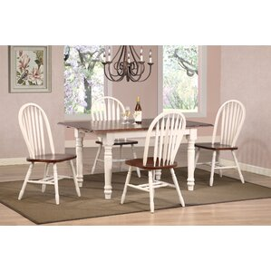 Banksville Butterfly 5 Piece Dining Set by Loon Peak