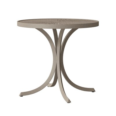 La'Stratta Round 27.5 Inch Table by Tropitone 2020 Sale