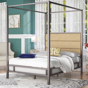 Coupon Wicklund Upholstered Canopy Bed by Willa Arlo Interiors Reviews (2019) & Buyer's Guide