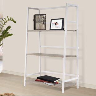 Read Reviews Albarado 3 Tier Folding Etagere Bookcase By Ebern Designs
