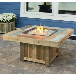 Vintage Gas Fire Pit Table