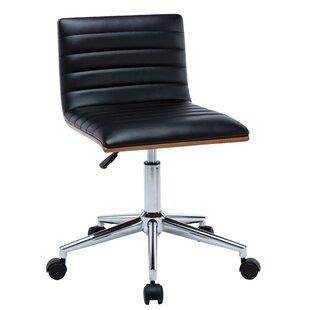 Antique Revival Alyson Low-Back Desk Chair