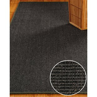 Great choice Sisal Black Encore Rug By Natural Area Rugs